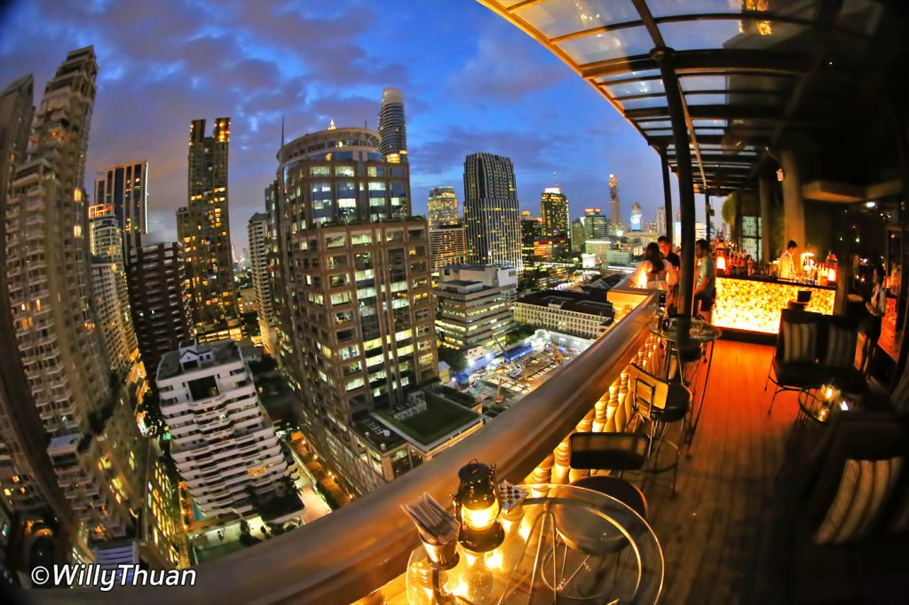 Speakeasy Rooftop Bar at Muse Hotel