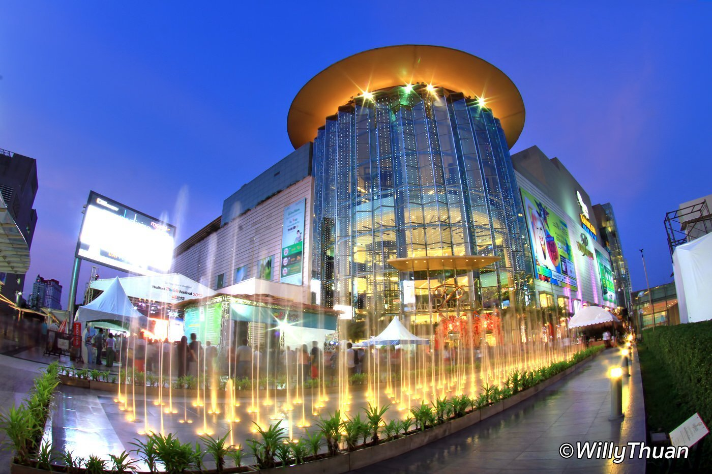 Siam Paragon Shopping Mall Bangkok