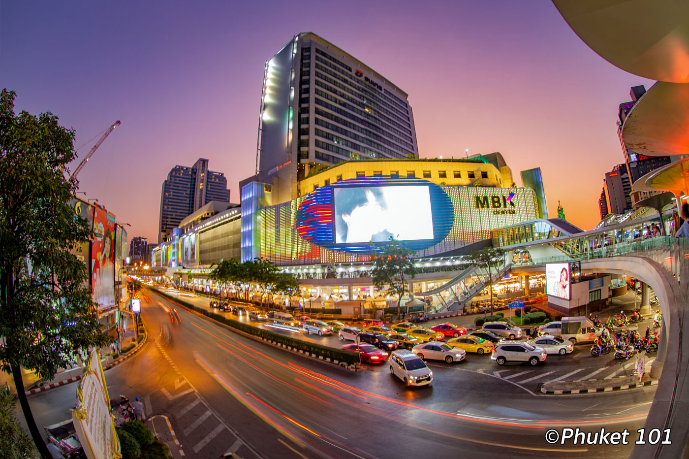 MBK Shopping Mall in Bangkok