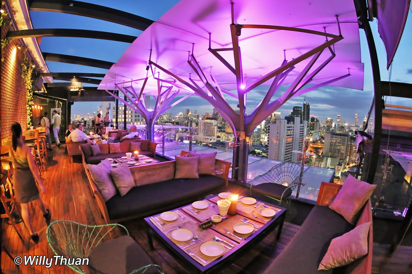 Above Eleven Rooftop Bar on Sukhumvit 11
