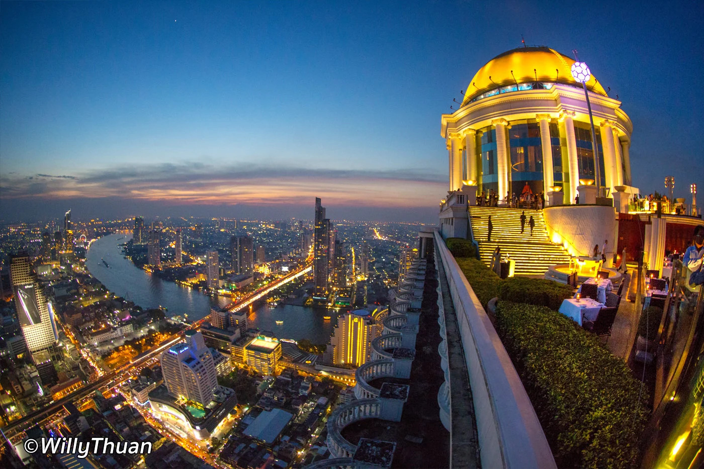 Sky Bar Rooftop Bar at Lebua Bangkok