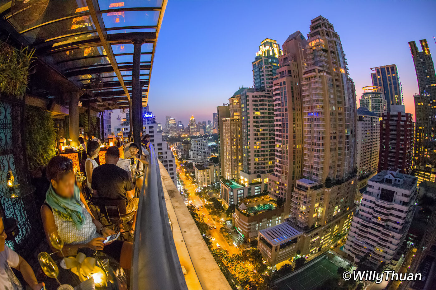Speakeasy Rooftop Bar Bangkok at The Muse Hotel
