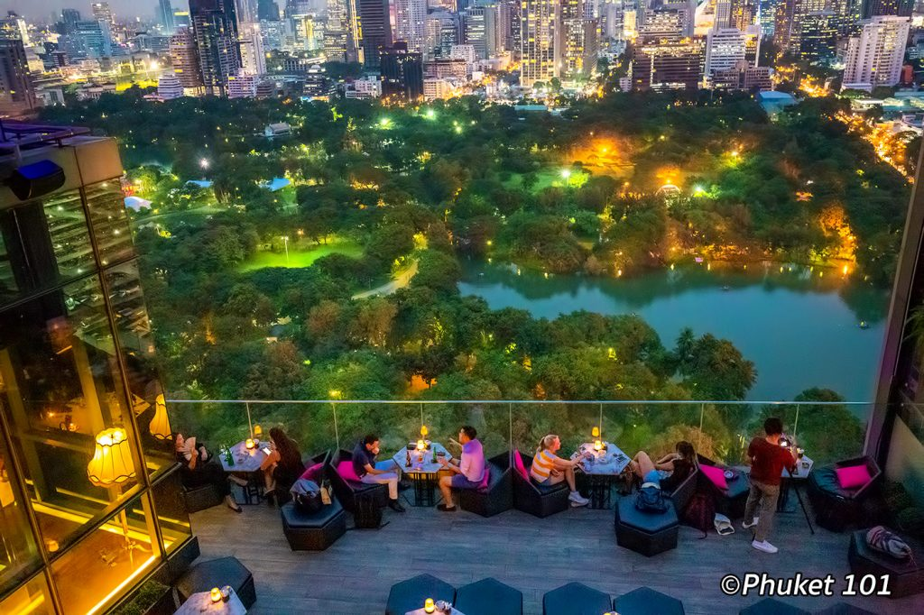 Hi So rooftop bar at So Sofitel Bangkok