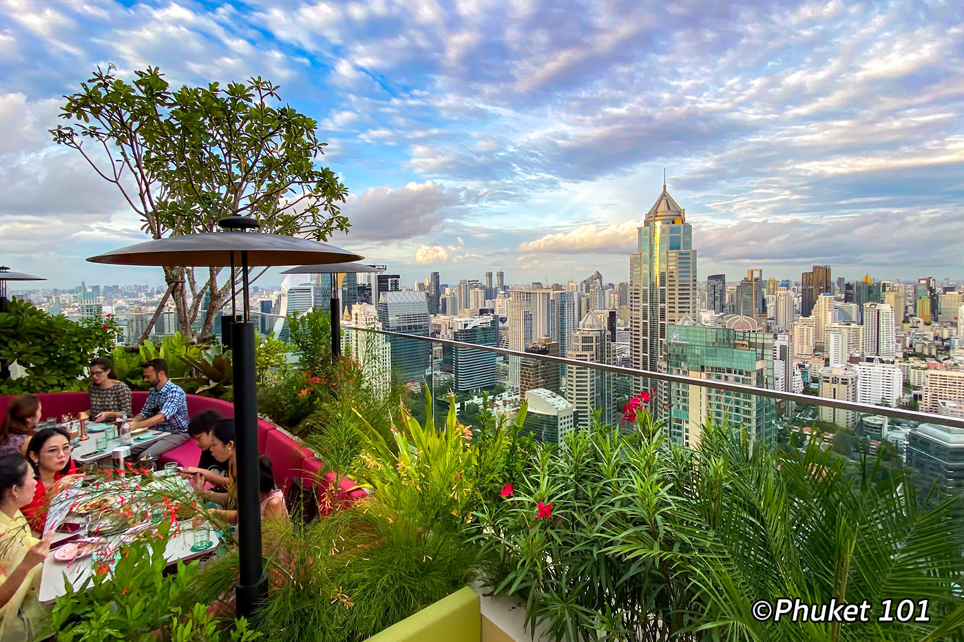 Bar.Yard Rooftop at Kimpton Maa-Lai Hotel Bangkok