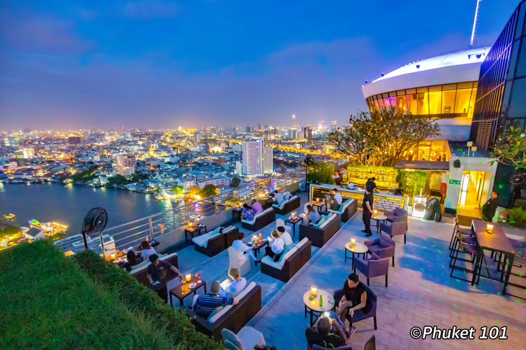 Three Sixty Rooftop Bar at Millennium Hilton Bangkok