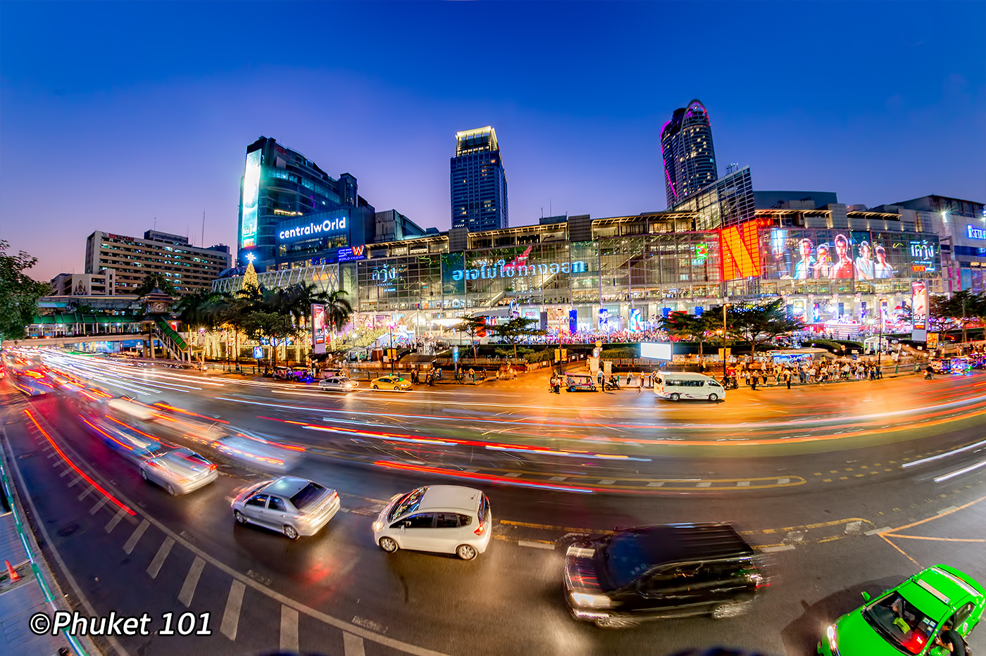 CentralWorld Shopping Center in Bangkok Siam